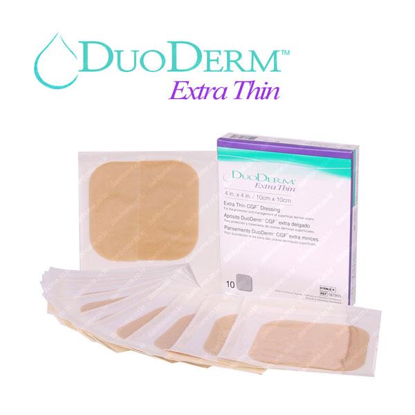 DuoDerm 듀오덤 엑스트라씬 10X10cm 10매 1박스 창상피복제 습윤밴드, 10매입