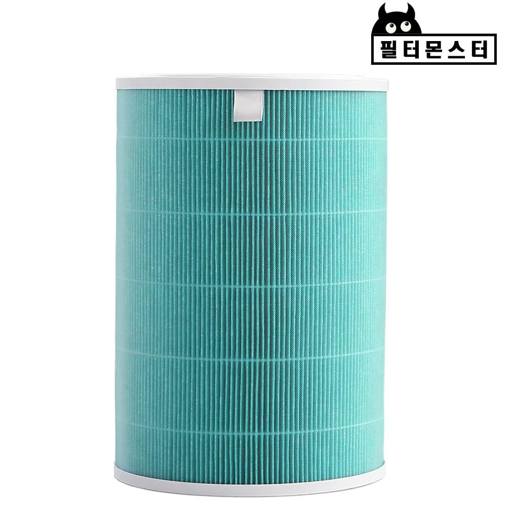 필터몬스터 샤오미 공기청정기 호환필터 미에어 2 프로 2S 미세먼지, 1개, 1.클린형