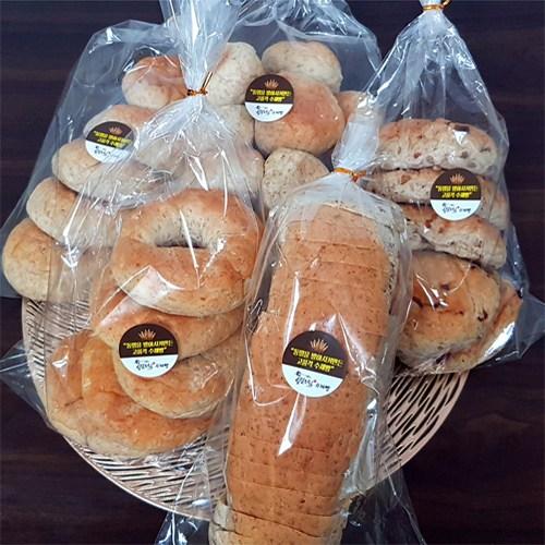 주문생산후 당일발송 국산 통밀로 만든 발아 다이어트 식빵 저칼로리 통곡물빵 통밀베이글 천연발효빵 통밀, 통밀수제식빵(소용량)