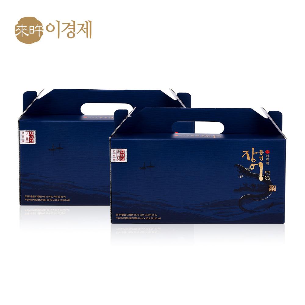 래오이경제 통영 장어 진액 70ml / 인포온 해피닥터, 60포