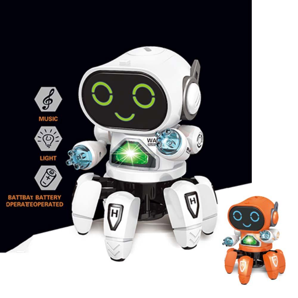 일루옵쇼 댄싱 로봇 고고봇 댄스 멜로디 7가지 라이트 기능