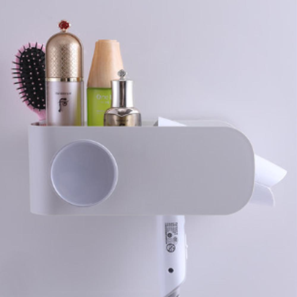 더줌커머스 드라이기거치대 드라이기홀더 욕실수납 정리용품, 1개, 04_드라이기 거치대/라이트그레이