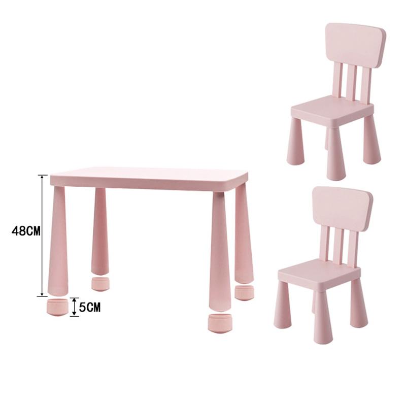 뉴타임즈13 유아테이블 아동용 책상 의자 세트 유치원 어린이집용 책상 의자 보육원 테이블 가정용 플라스틱 장난감놀이 책상 XT16 A15, 14 핑크 세트