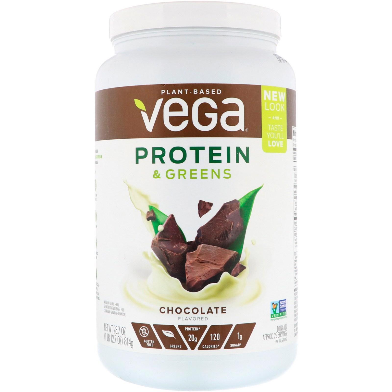 베가 프로틴 & 식물성 초콜릿 맛 28.7 oz 814g 식물성 단백질, 1개, -