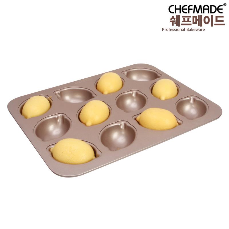 쉐프메이드 레몬틀 마들렌틀 레몬케이크팬 12구