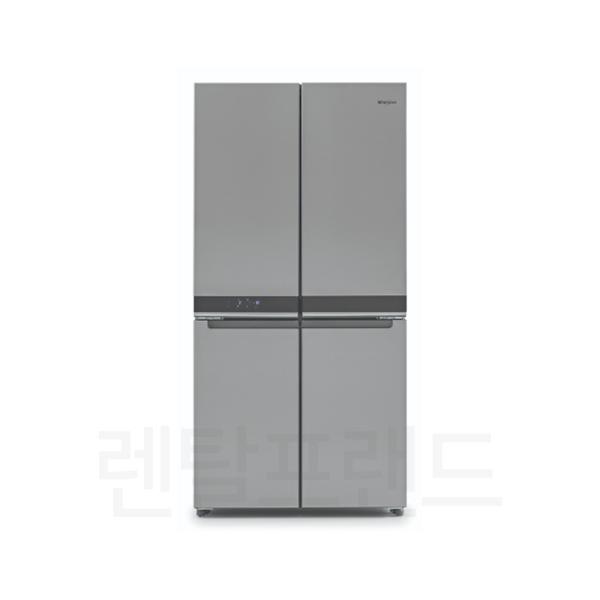 월풀 세미빌트인 4도어 냉장고 600L (6WQN1SS)