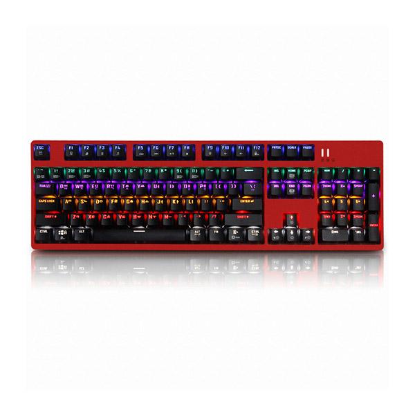 앱코 HACKER K660 축교환 키보드 레드 (기계식 광축 클릭), 선택하세요