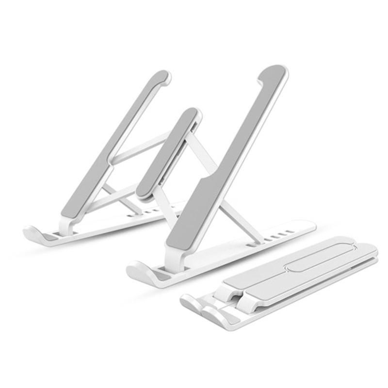 태블릿 액세서리 용 홀더를 높이기 위해 열 통풍 장치가있는 노트북 받침대 테블릿 거치대, 하얀-14-5764667734