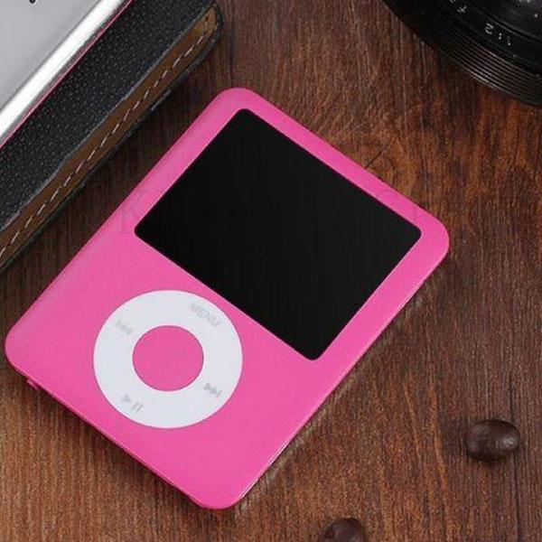 kirahosi 휴대용 소형 mp3 음악 미니 mp3 플레이어 날씬한 초소형 22 ML 11, 핑크T28(OTG세트), 32GB