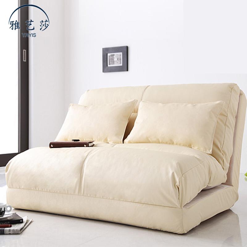 트랜스포머 침대 쇼파 베드 접는 소파 원룸 좁은 거실 인테리어 접이식 간이 1인용 2인용, 폭 90CM+쿠션 2개