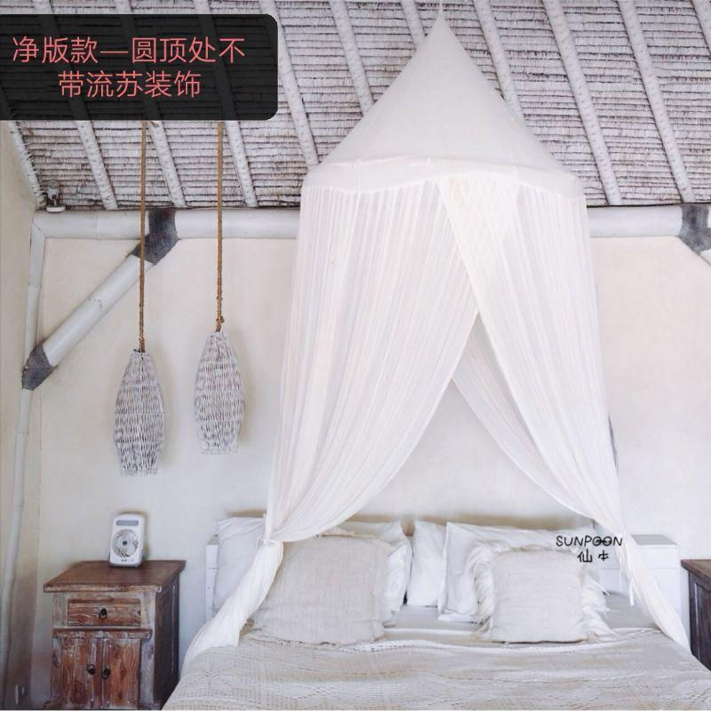 방텐트 방꾸미기 침실 신혼부부 레트로 장식 커튼 더블 침대 방풍 실내 천장 텐트, 1. 색상 분류: 넷 버전 침대 커튼-소량 재고 있음, 적용 가능한 침대 크기: 12m 4 피트 침대