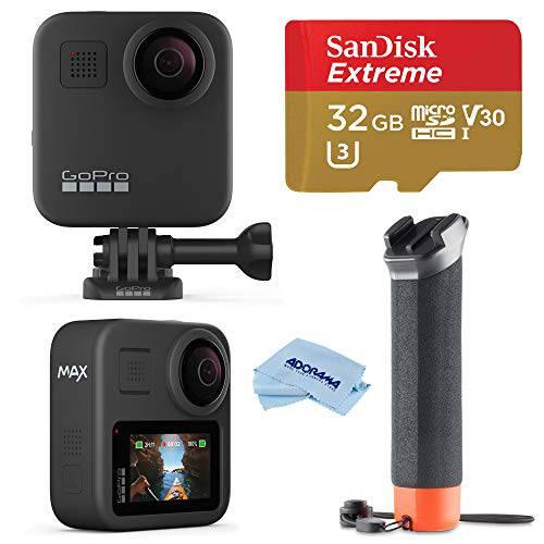 GoPro 맥스 방수 워터푸르프 360 카메라+ 히어로 Style 비디오 with 터치 ?, 상세내용참조
