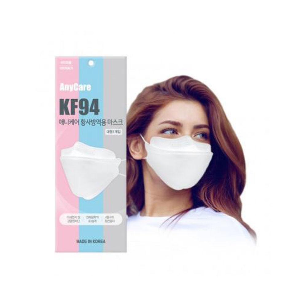 애니케어 황사방역용 마스크 KF94 대형 1매입 10개 묶음판매, 1팩