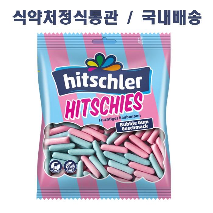 히츨러 히치스버블검 수수깡젤리, 1개