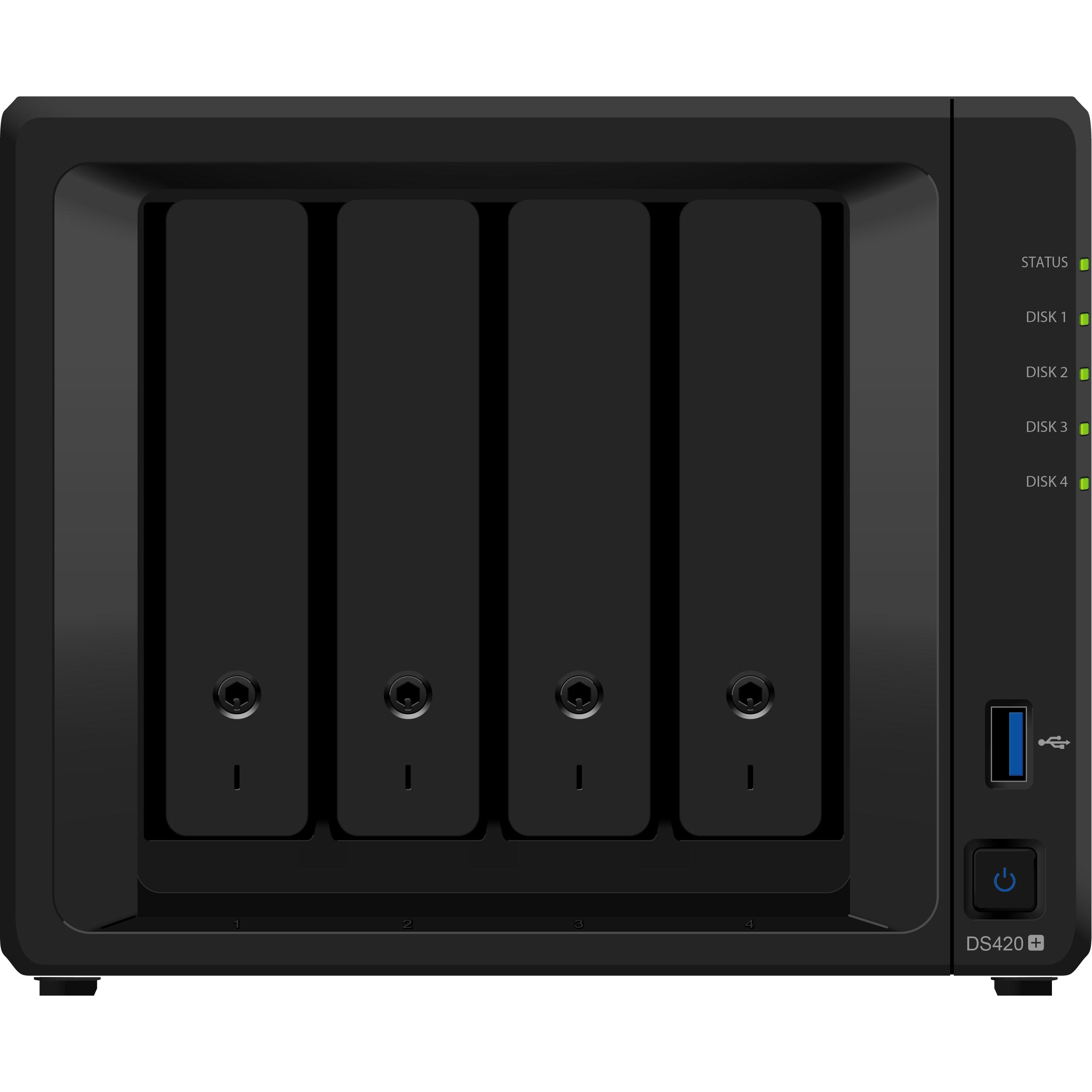 시놀로지 디스크 스테이션 NAS DS420+