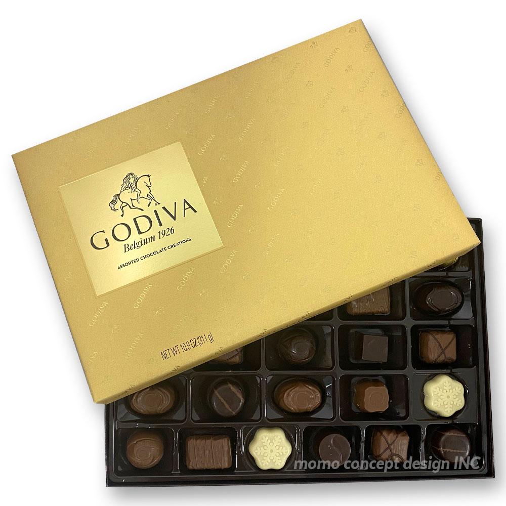 고디바 어쏘티드 초콜렛 크리에이션 골드마크 311g 기프트박스 코스트코, 옵션없음, 옵션없음