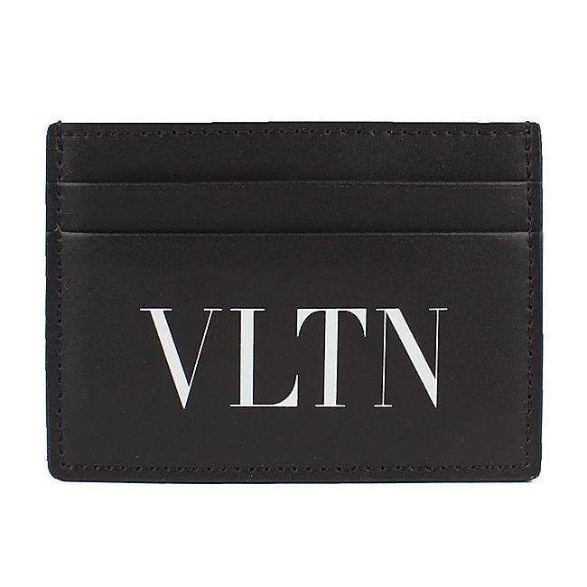 발렌티노 20FW UY2P0448 LVN 0NO VLTN 로고 카드지갑