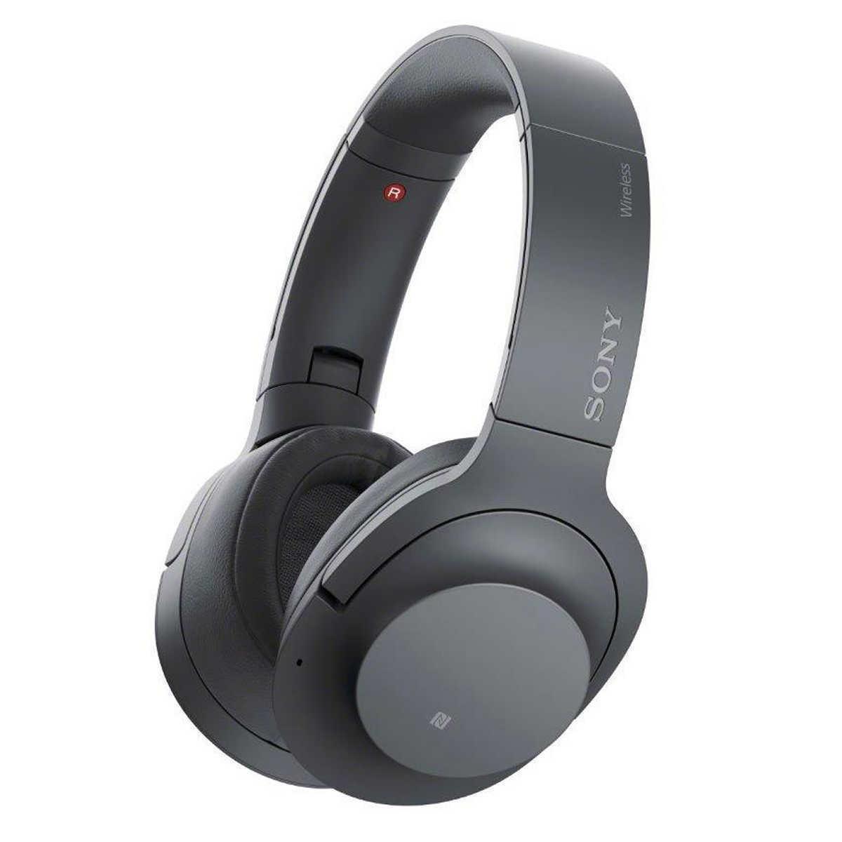 소니 WH-H900N Hear On 2 노이즈캔슬링 블랙 블루투스헤드폰, 오픈박스
