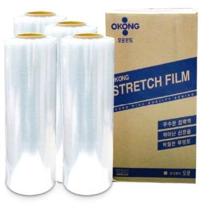 오공 기능성 스트레치필름 12mic x500mmx350m 1box(4개입), 1box