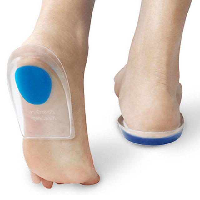 PM 실리콘 발바닥 뒤꿈치 뒷굽 기능성깔창 쿠션깔창 한쌍