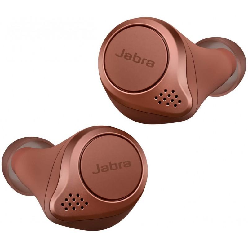 Jabra 전체 무선 이어폰 Elite Active 75t 시에나 코랄 bluetooth 5.0 방진 방적 IP57 북유럽 디자인 국, 단일상품, 단일상품