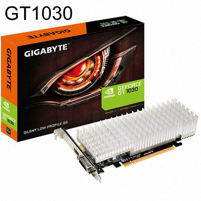 그래픽카드 지포스 GT1030 UD2 D5 2GB 팬리스