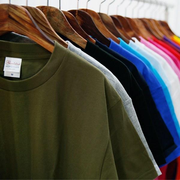 티데일리 남녀공용 베이직 라운드 17수 반팔 티셔츠