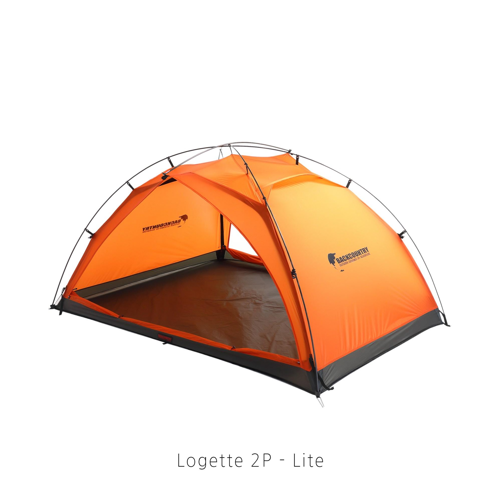 [BACKCOUNTRY] (종합) 재너두2P 와이드 BLT 2P 백패킹 초경량 텐트 제너두 더블월 2P, 3.비엘티 2P(크로마 오렌지)