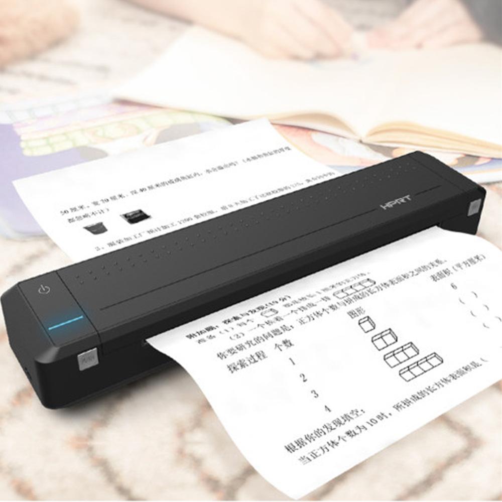 블루투스 휴대용 프린터 미니 무선 프린터