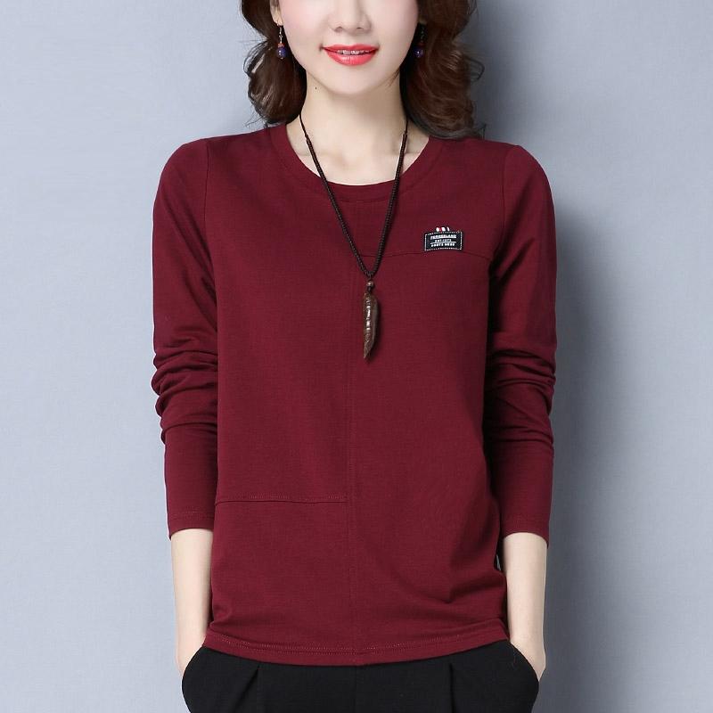 중년여성 긴소매 티셔츠 06 DUM06 577110658496