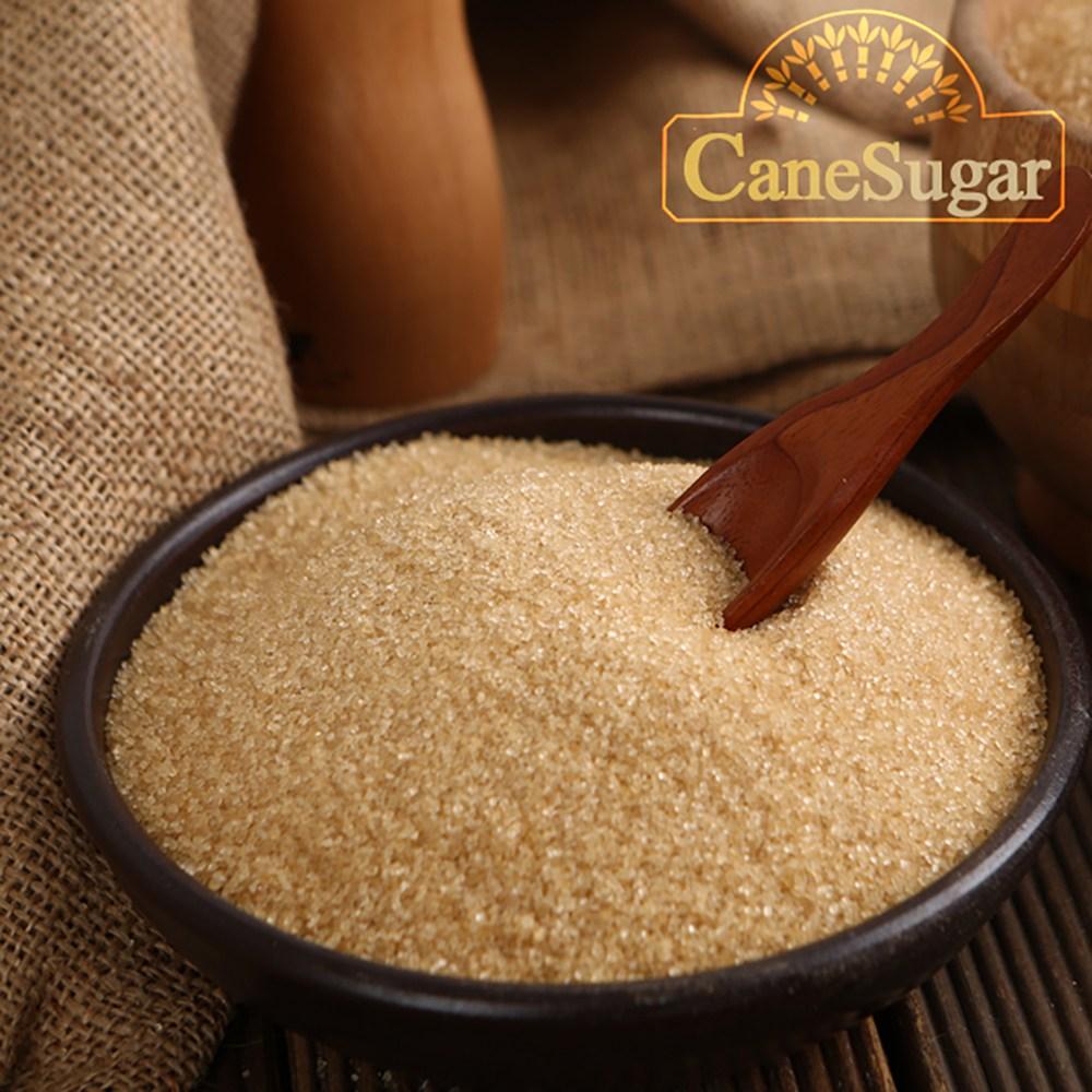퓨어스윗 비정제 사탕수수 원당 20kg(5kgx4팩)/비정제설탕 사탕수수100%, 20kg, 1개