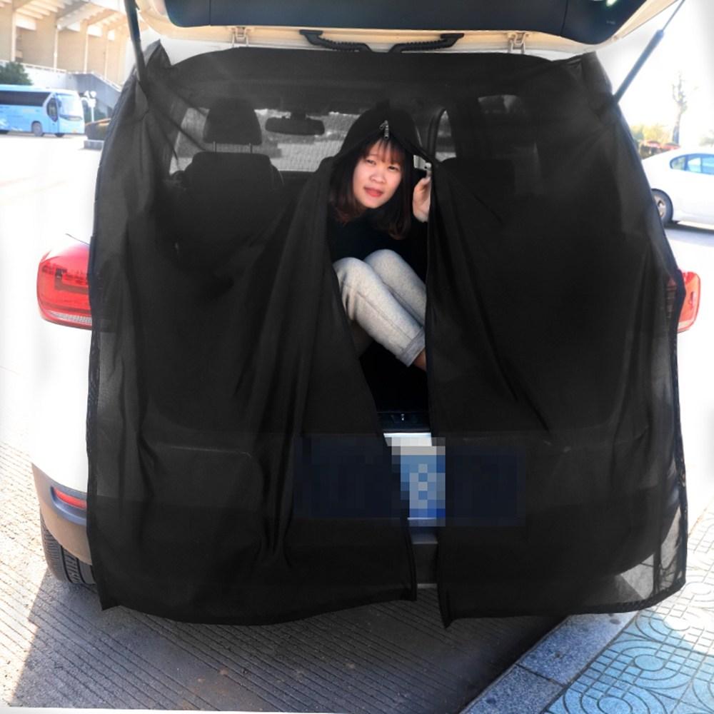 트렁크모기장 차량용 방충망 카박 카텐트 차박준비물 SUV차량