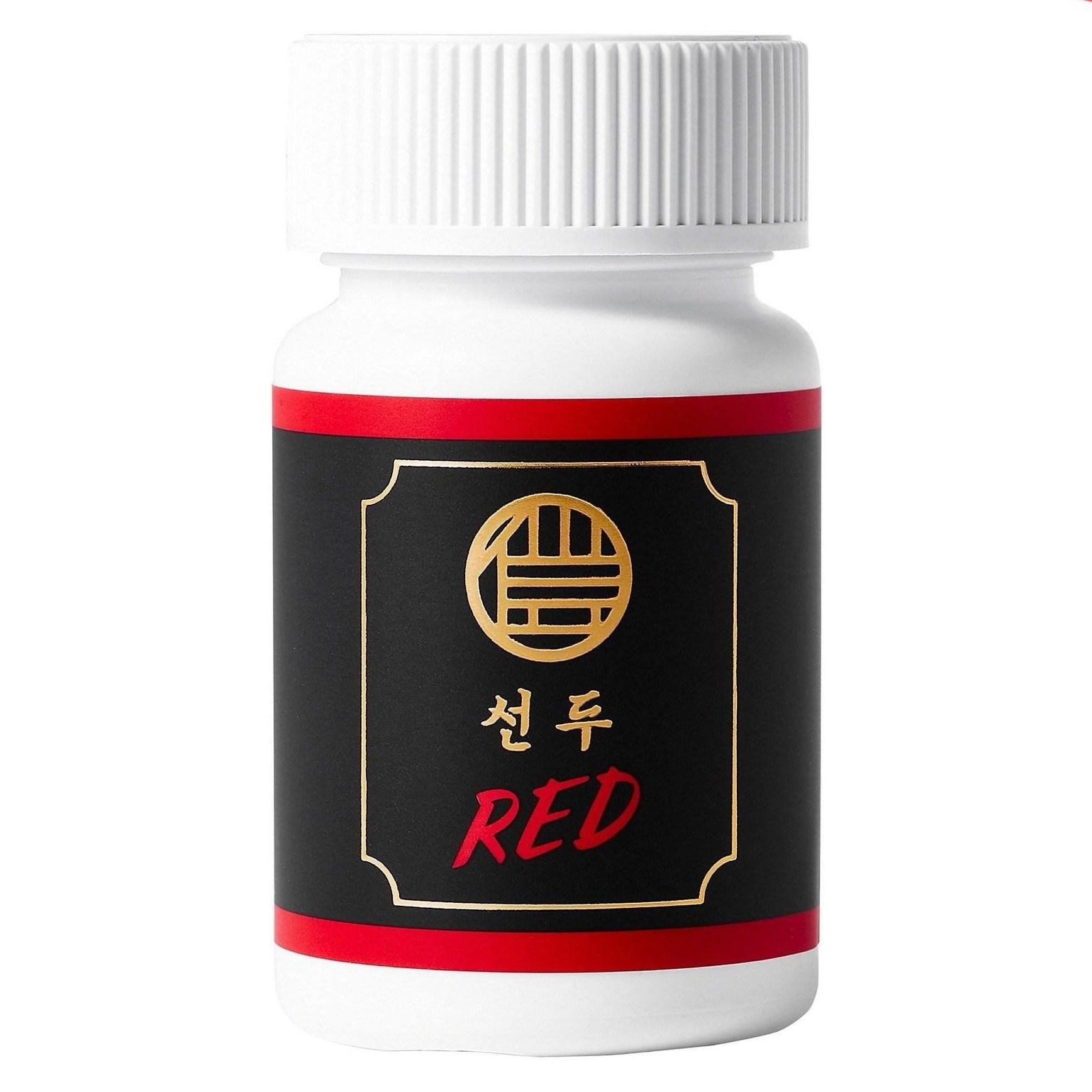 페루산 블랙마카 800mg 남자의 활력을 살리는 선두 Red, 60정, 1통