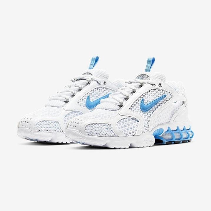 나이키 줌 스피리돈 케이지2(W) 유니버시티 블루 Nike Air Zoom Spiridon Cage 2 Stussy UNC Blue ALANDJAY