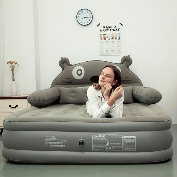 귀여운 캐릭터 에어매트 휴대용 침대 수면패드, 옵션14 200 180 20cm