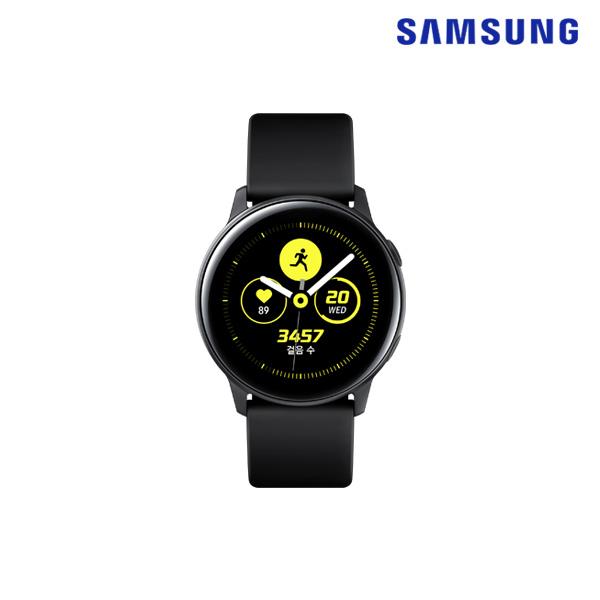 삼성전자 삼성정품 갤럭시워치 액티브 SM-R500N, 블랙