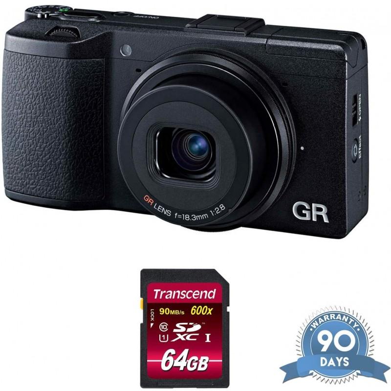Ricoh GR II 디지털 카메라 (메모리 카드 포함)-(갱신), 단일옵션