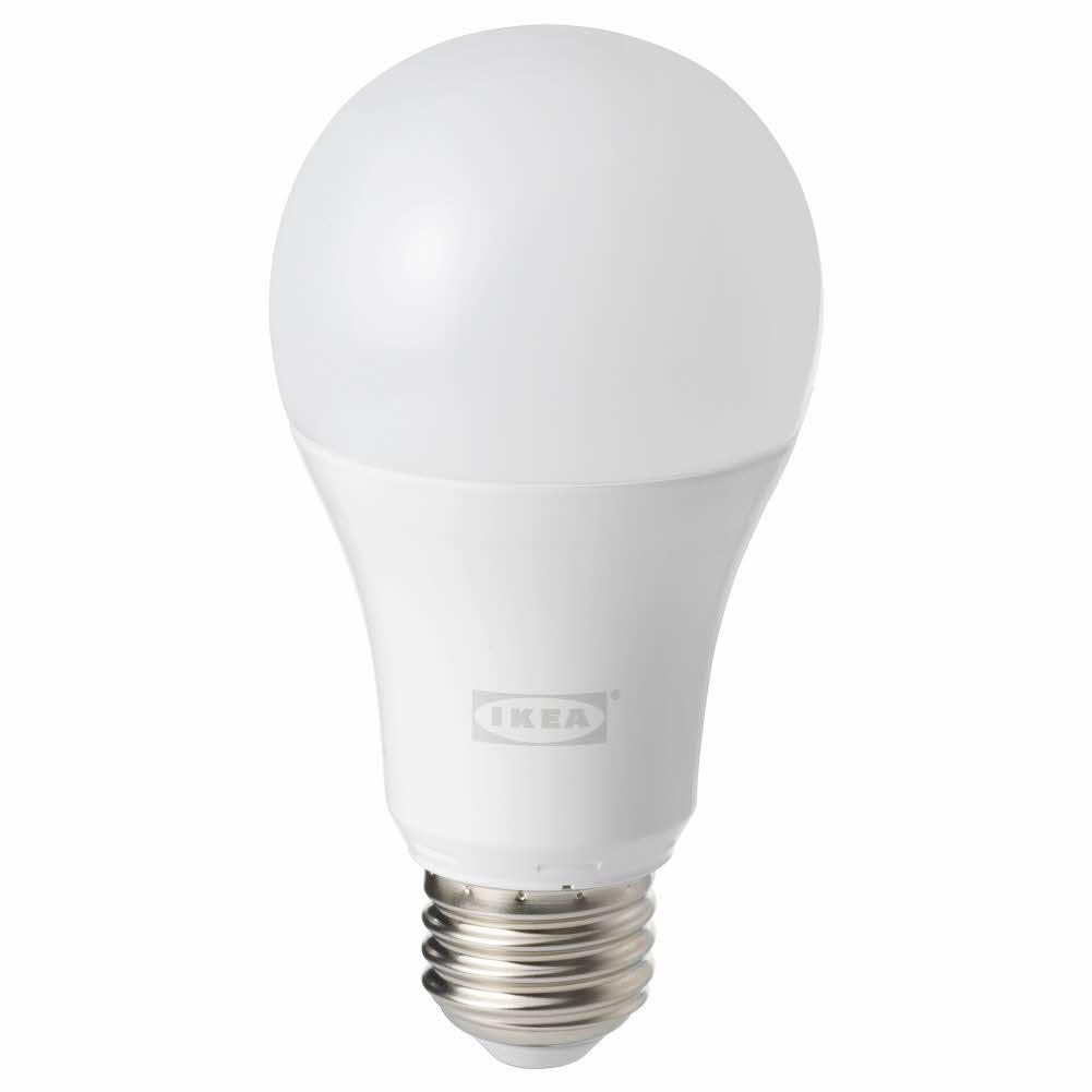 LED전구 E26 1000루멘 무선밝기조절 화이트 스펙트럼 오팔 화이트 TRDFRI, 기본, 기본