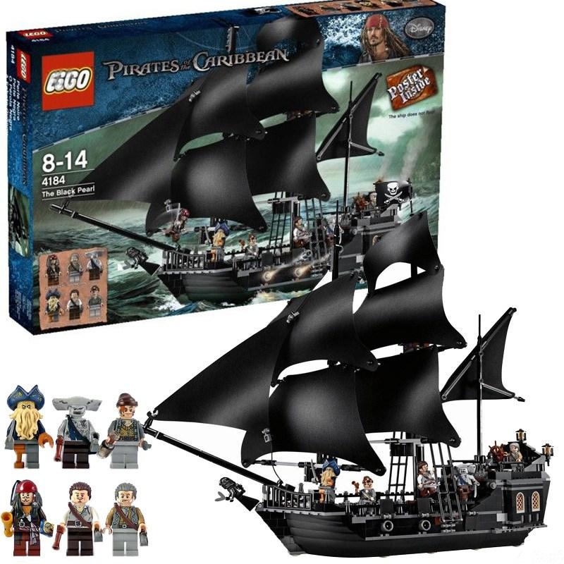 애니샵 캐리비안의 해적선 블럭 3#60 레고호환블록, 블랙