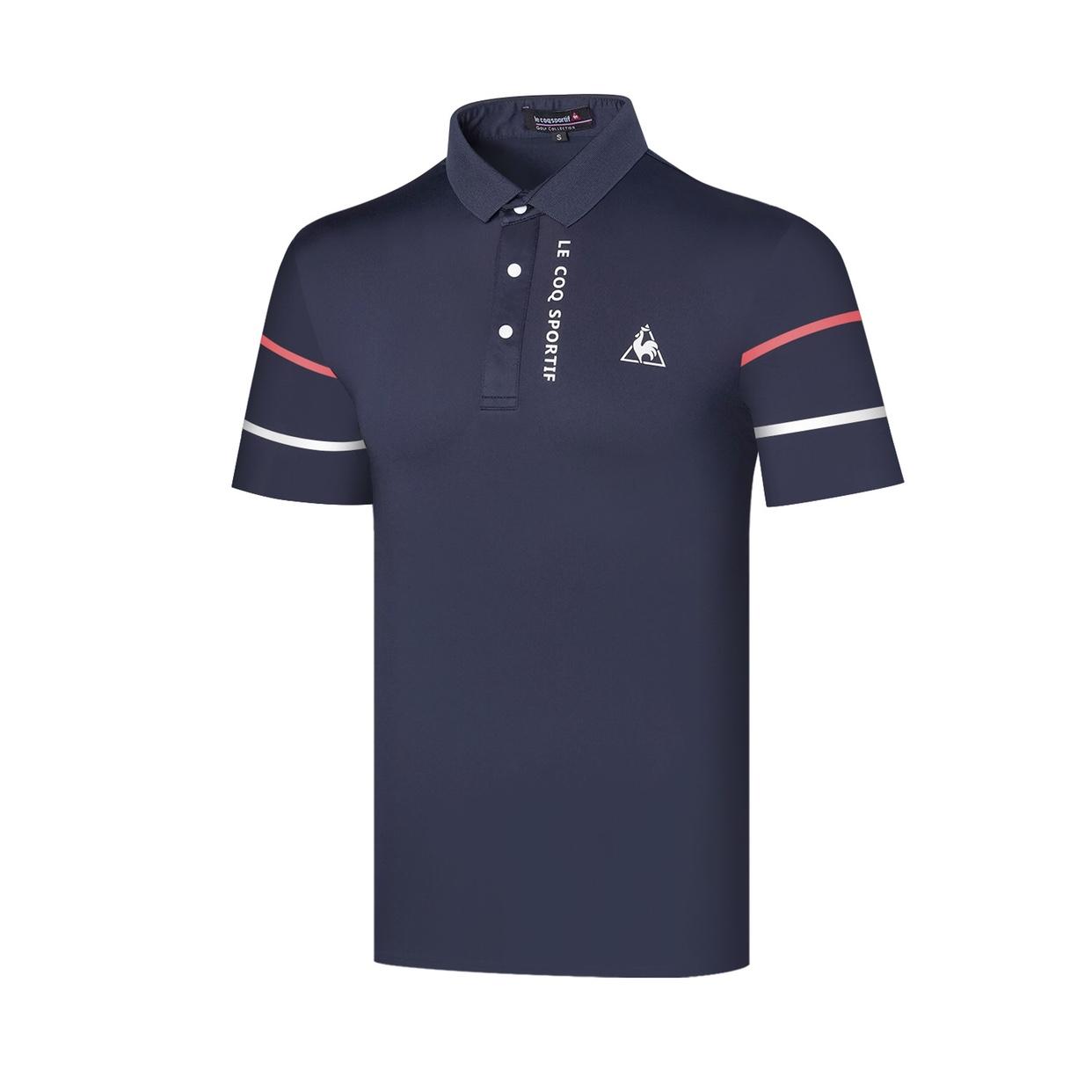 르꼬끄 남성 골프웨어 남성 여름 반팔 티셔츠 골프복