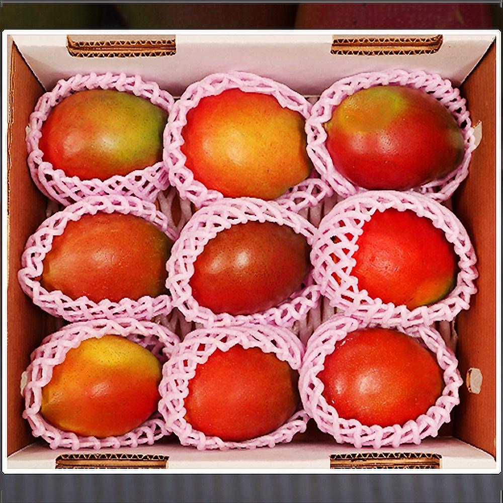 애플망고 선물세트 애플망고제철 망고제철 생망고 4kg, 1박스