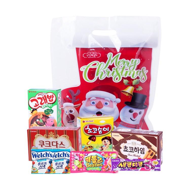 [간식팩토리] 크리스마스선물세트_과자선물세트 수능선물세트 과자 크리스마스과자선물 7종, 단품