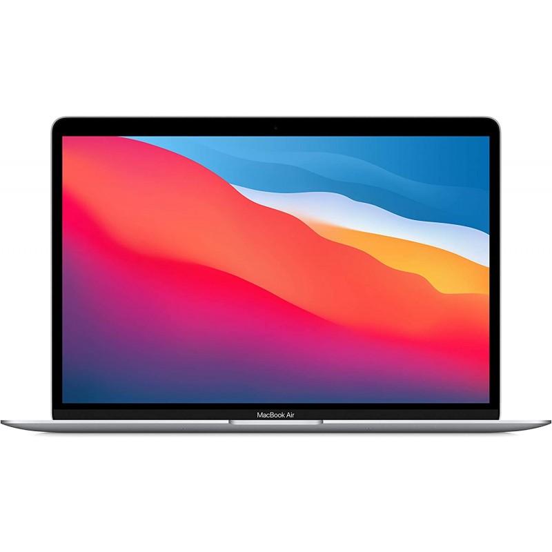 스페인직송 애플 칩 M1 (13인치 8GB RAM 512GB SSD)가 있는 새로운 애플 맥북 에어 - 실버 (최신 모델), 1, 단일옵션, 단일옵션