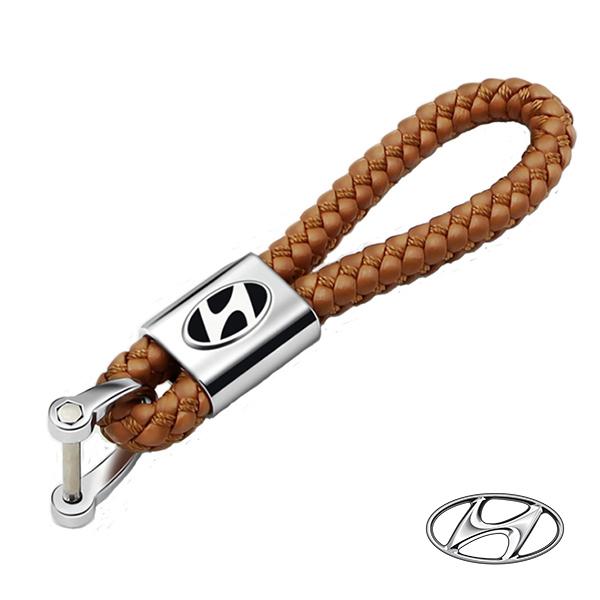 디아이 보테가 자동차 키링 열쇠고리 키홀더, 현대 브라운