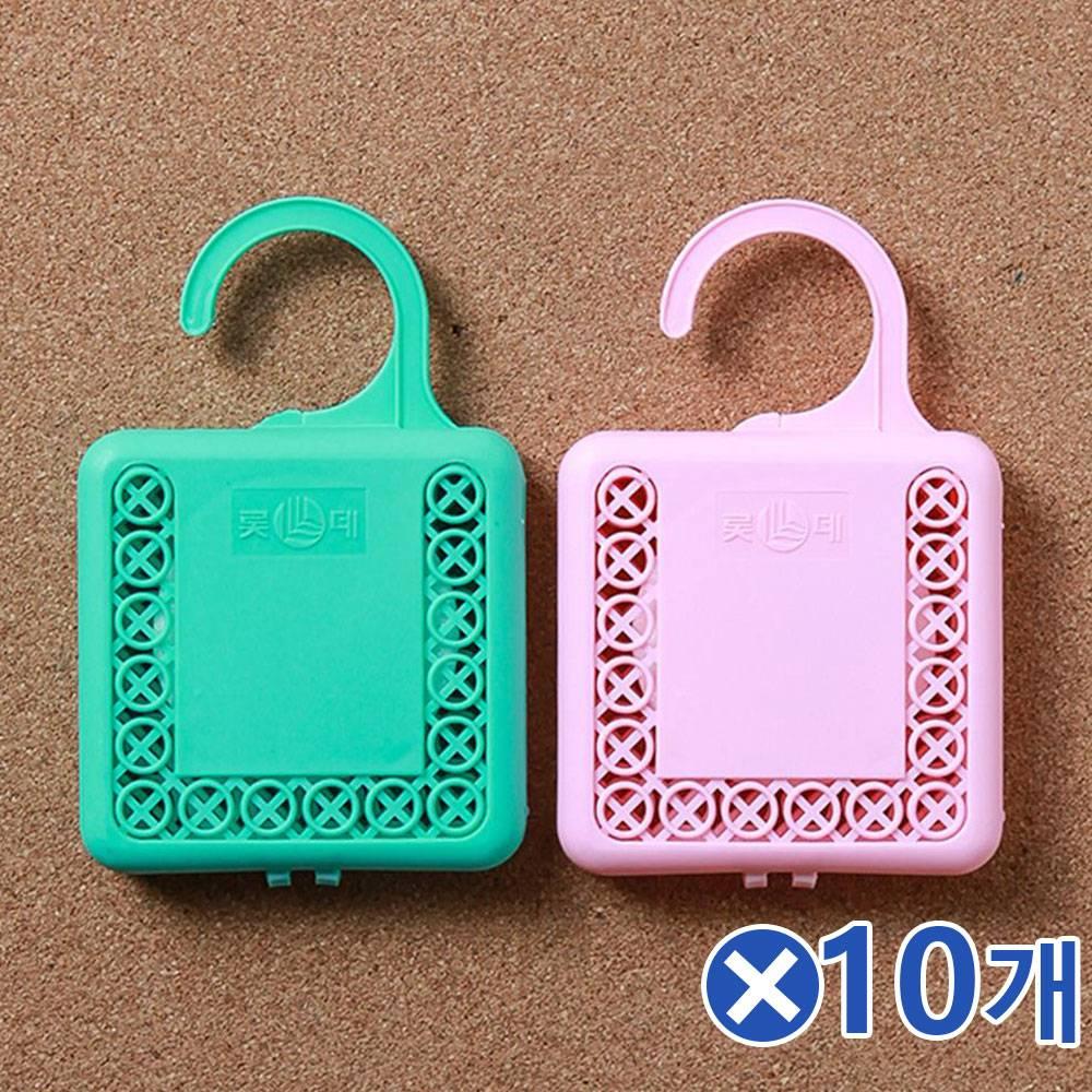 (MK) 옷장 화장실용 걸이형 방충제 2px10개 옷장좀약 옷방, 단일상품