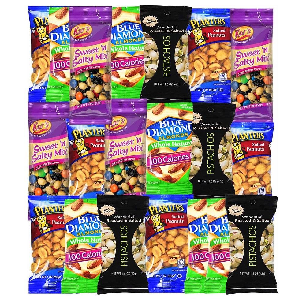 Blue Ribbon Healthy Snacks 블루 리본 헬시 스낵 케어 패키지 1.9LB 20개입, 1개
