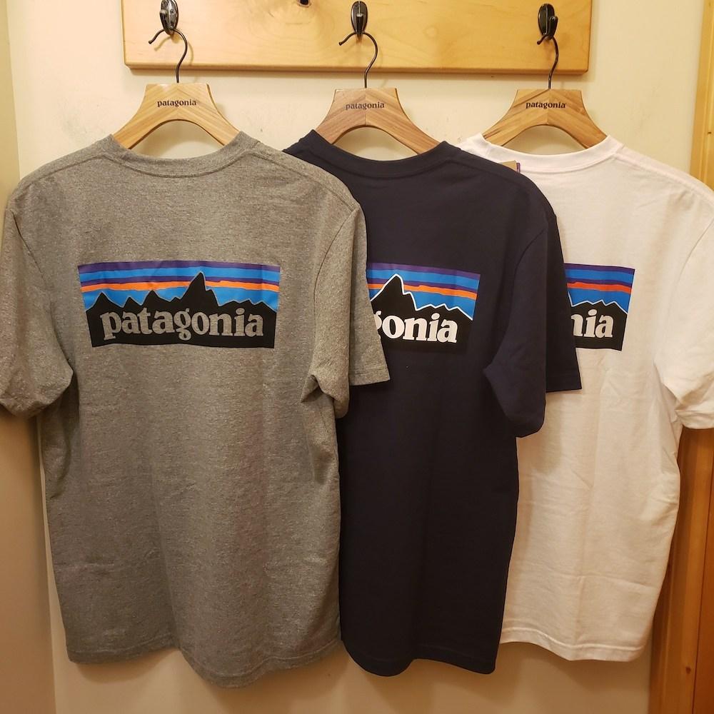 [이라운드몰]파타고니아 P-6 남녀공용 반팔 티셔츠
