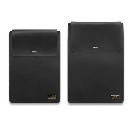 마블 노트북 가죽 파우치 15 13 인치