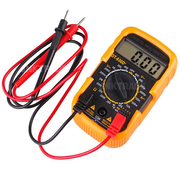 디지털 멀티테스터기 저항 전류 전압측정, 1개