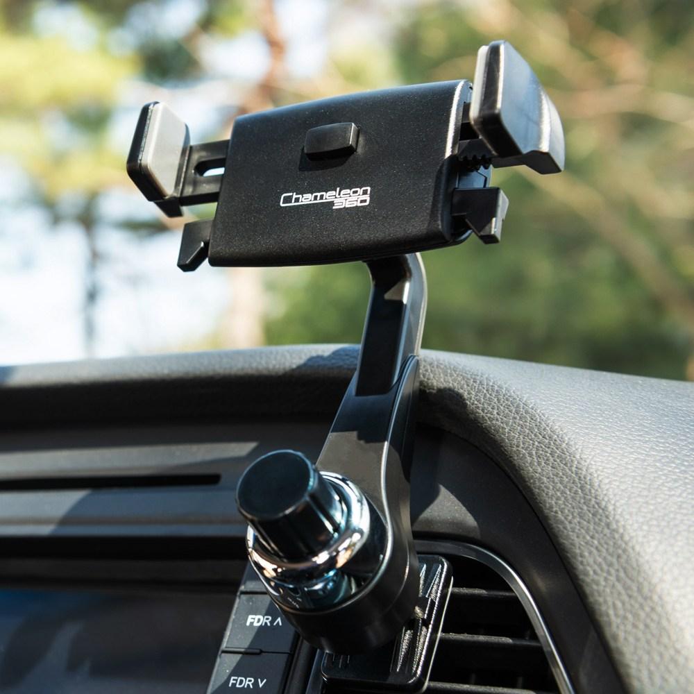 카멜레온360 원터치 송풍구형 차량용 핸드폰 휴대폰 거치대, 송풍구(원터치) A Type